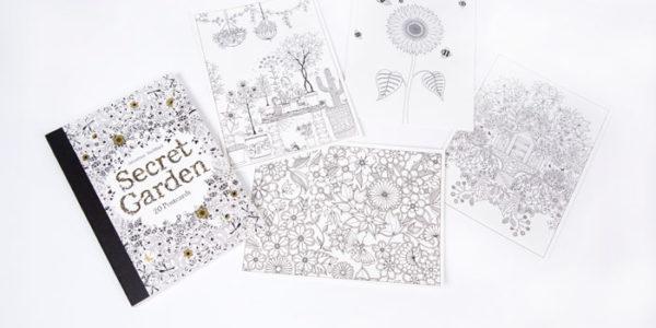 Secret Garden Postcards By Johanna Basford