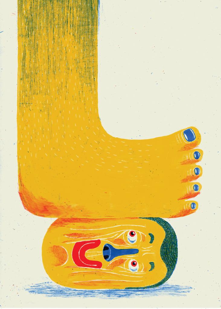 Illustration by Tuomas Ka?rkka?inen for Intern Magazine