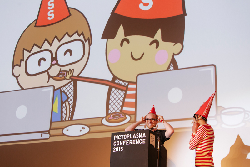 TADO, speakers at this year's Pictoplasma conference