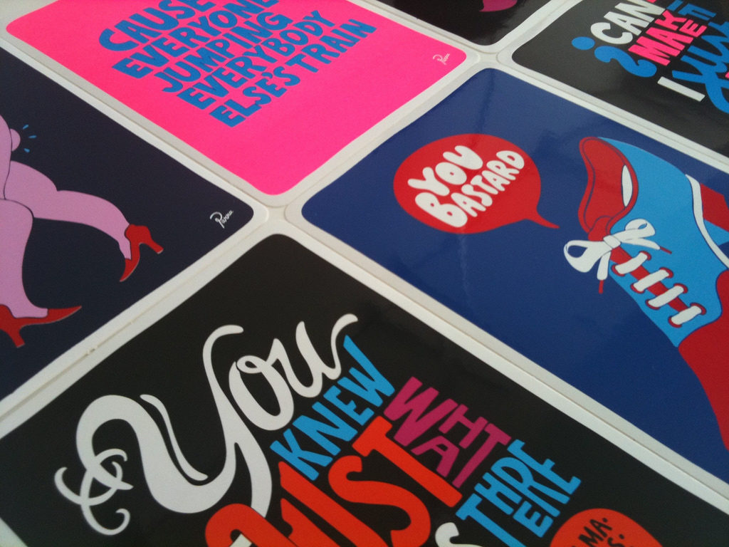 Parra Sticker Pack - the first edition released by Case Studyo