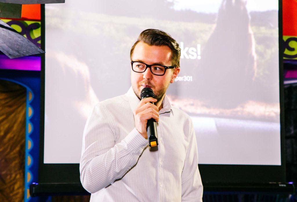 Dan Cooper of Birmingham based design agency Adaptable
