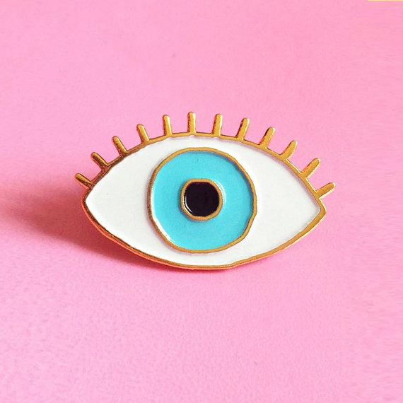 Enamel pin design by Cou Cou Suzette