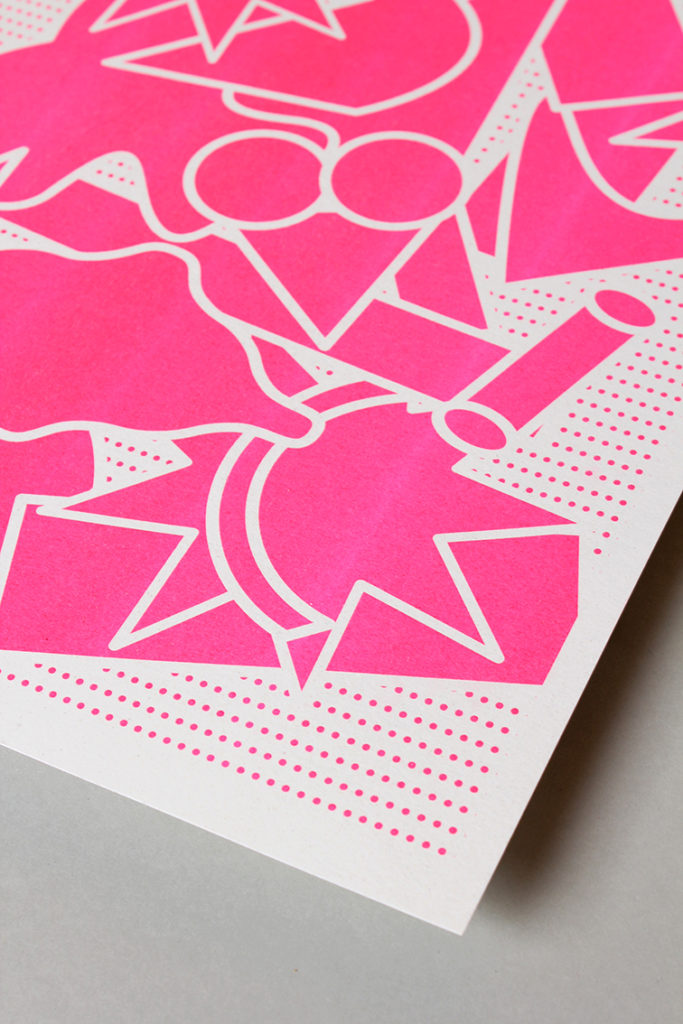 Marta Veludo created her own brand identity to promote her visual illustration and graphic work.