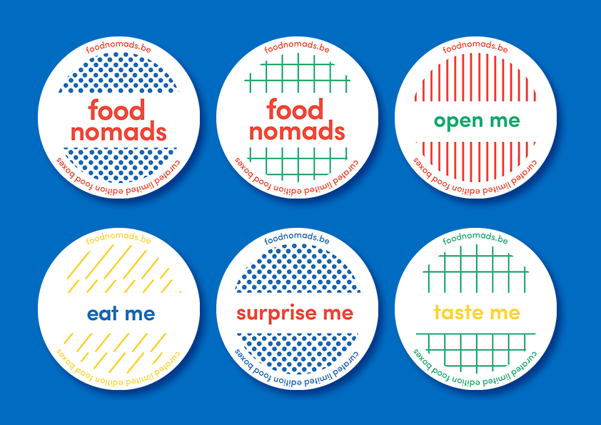 Brand identity for Food Nomads
