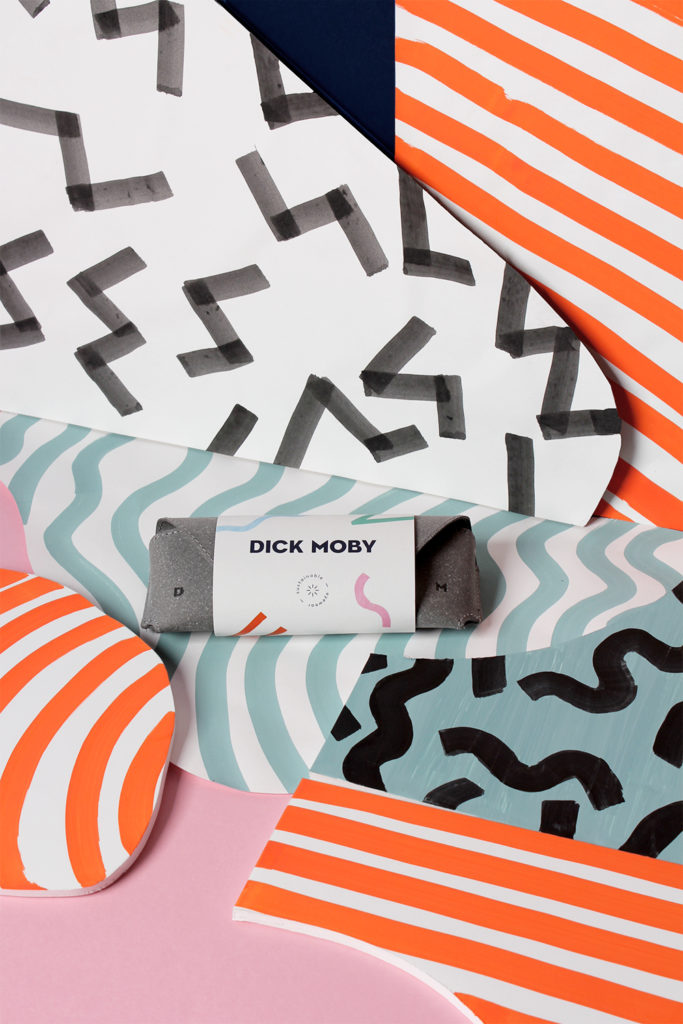Brand identity for Dick Moby