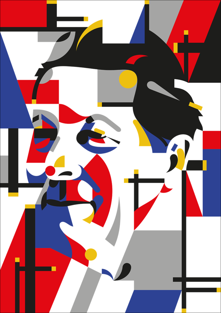Marking the 100th Anniversary of the movement 'De Stijl' ('The Style') • Inkygoodness