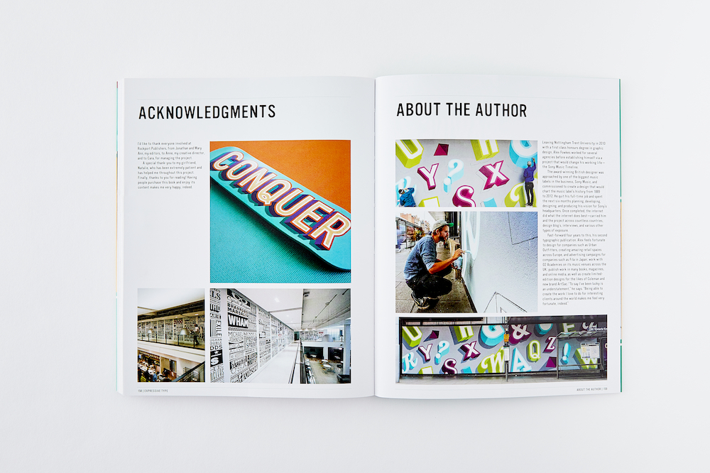 Expressive Type - the second book by Alex Fowkes