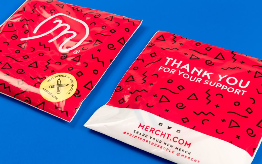 Brand design for Mercht