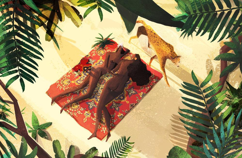illustration, Marianna Tomaselli, design, colour, texture, art, illustrator, artist of the week