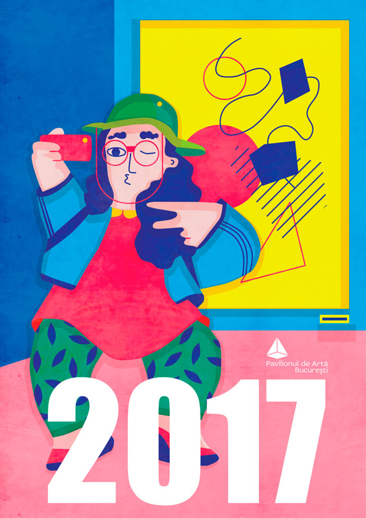 One of the many illustrated visuals for this year's Art Safari 2017 Art Fair in Bucharest.