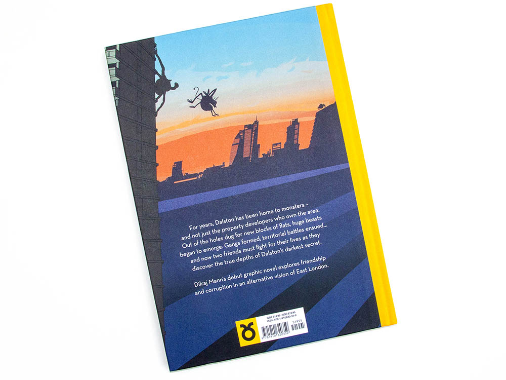 Dilraj Mann, Dalston Monsterzz, Nobrow Press, design, illustration, books, interview,