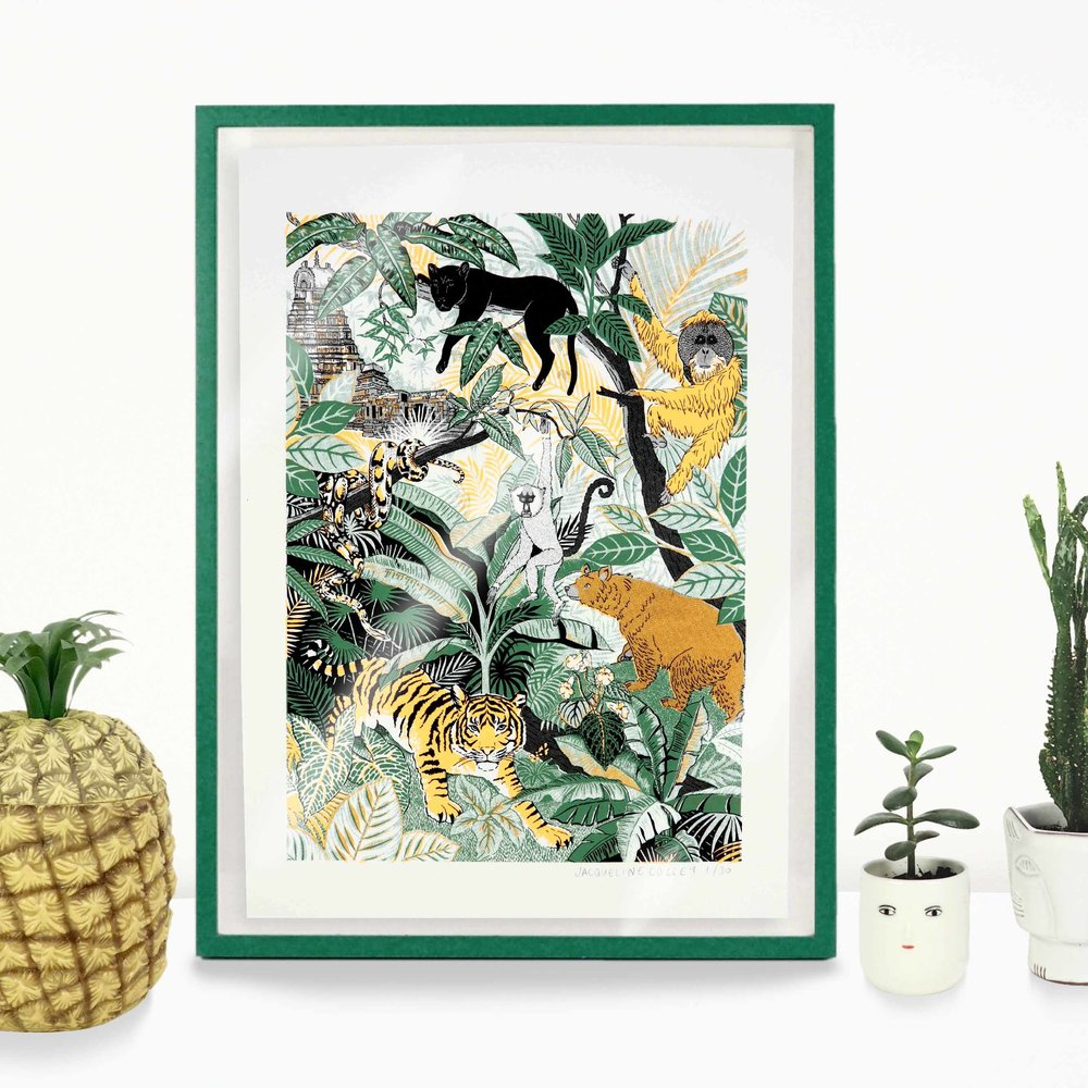trend, tropical, botanical, Summer, repot, Jacqueline Colley, design, illustration, pattern, fashion