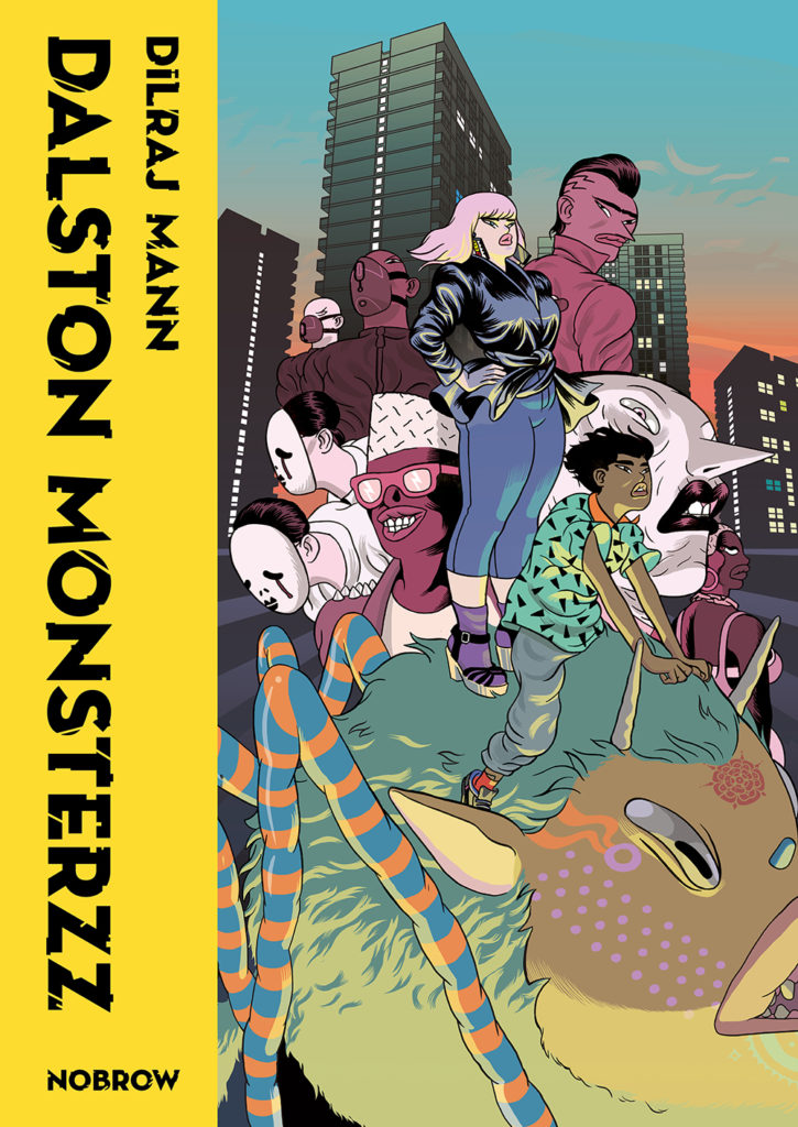 Nobrow Press, graphic novels, comic books, design, illustration, book review