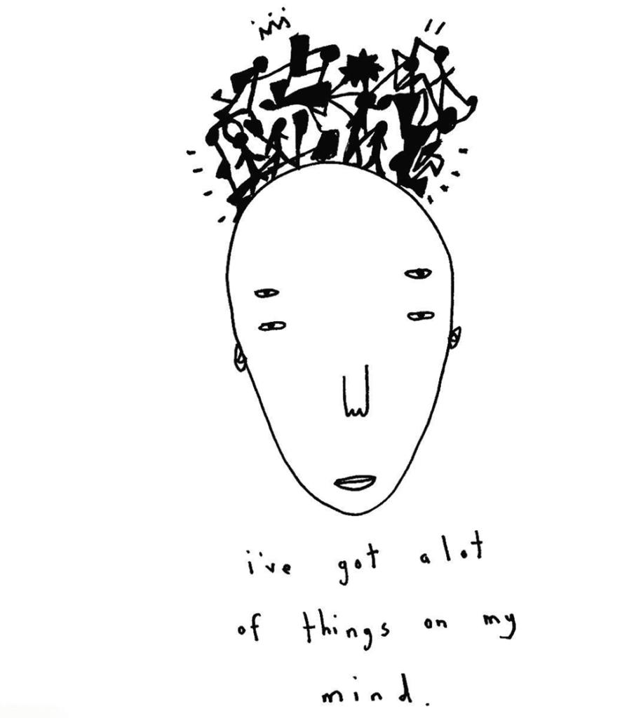 mental health, column, art school, anxiety, education, design, creativity, travelling, illustration, Shuturp