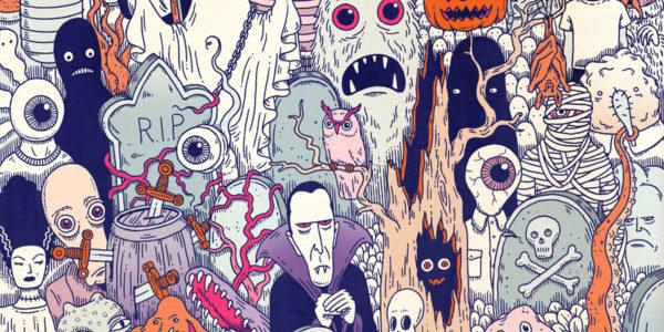 wishlist, weekly, column, design, illustration, shopping, Halloween