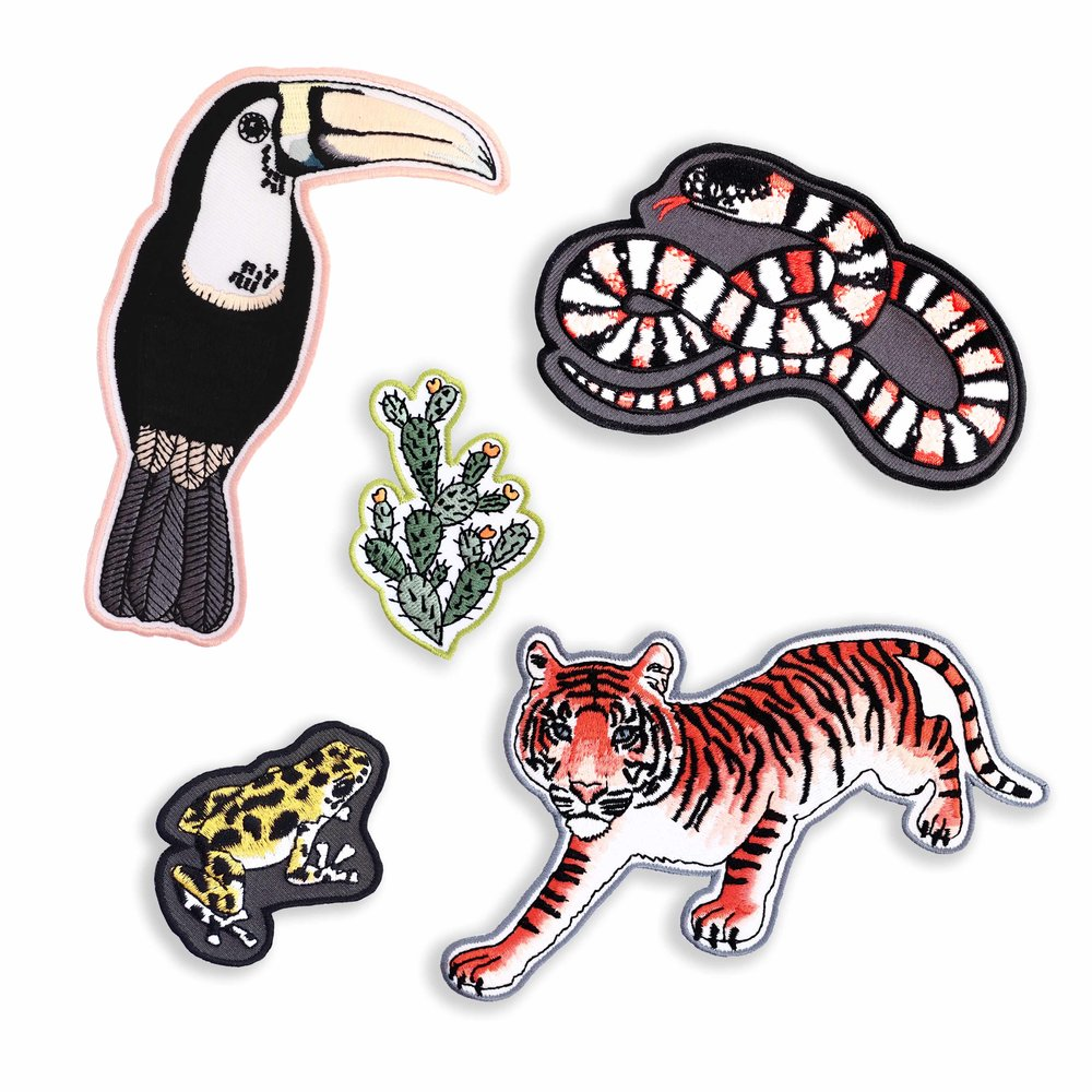 shopping, trend, fashion, patches, shop independent, illustration, artists, designers