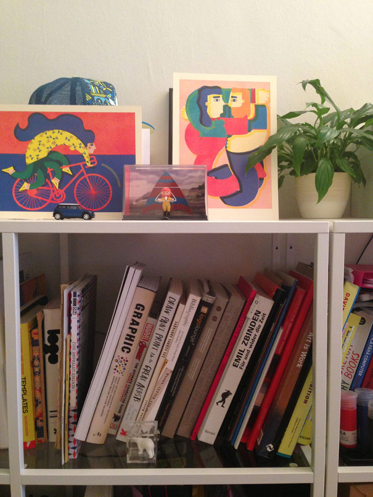 The studio collection of books about illustration, graphic design and art.