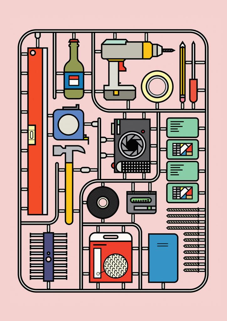 illustration, design, creative, art, pattern, Peter Judson