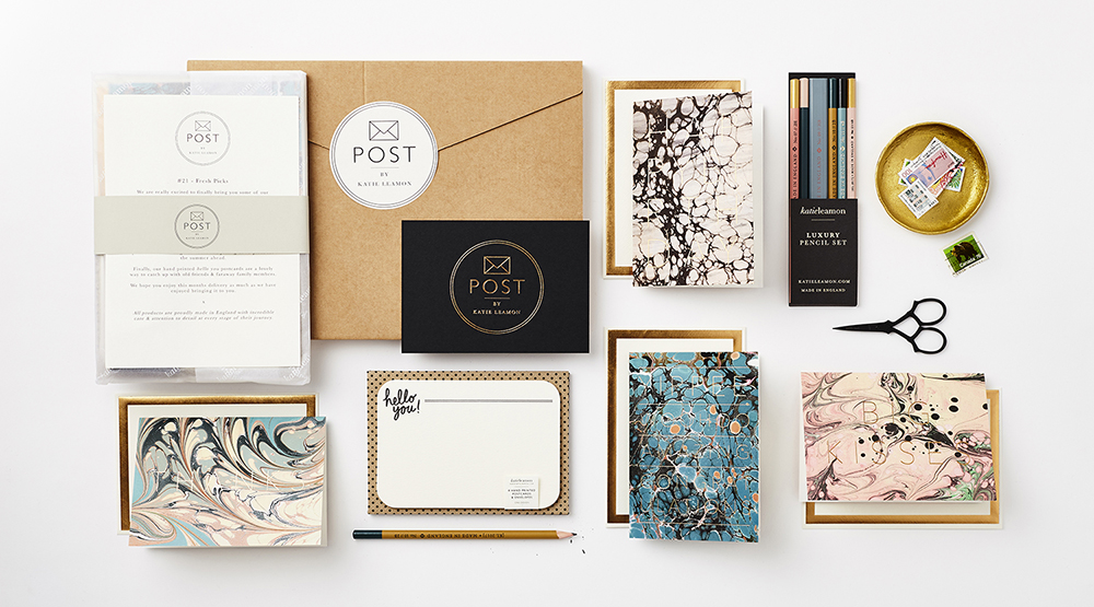 subscription service, design, illustration, pattern, stationery, print