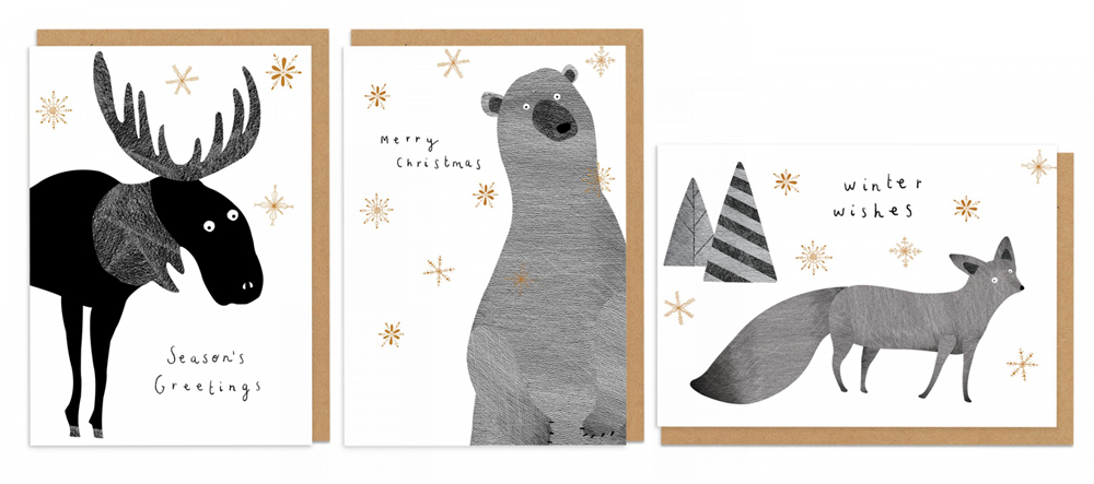 christmas, design, creative, illustration, shopping