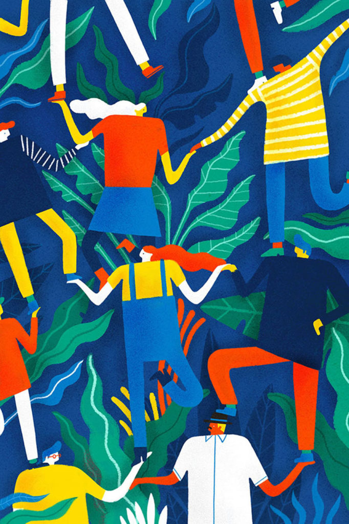 illustration, artwork, Mark Conlan, design, featured artist