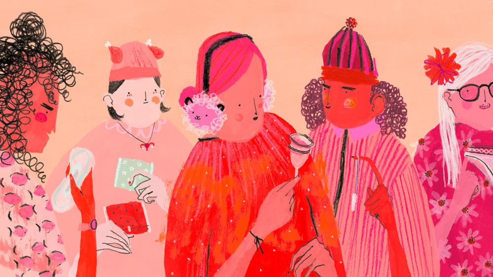 Mouni Feddag, illustration, design, featured artist, Christmas