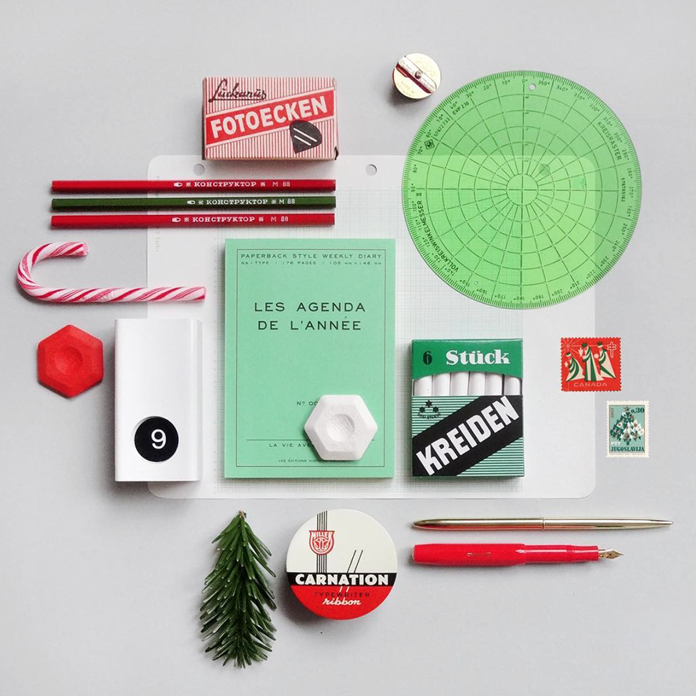 Present & Correct, stationery, design, vintage, Follow Friday