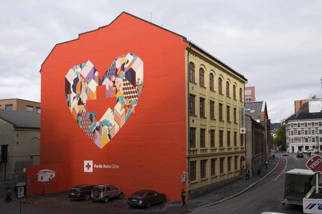Urban Garden for Redcross Oslo - Gilles & Cecile