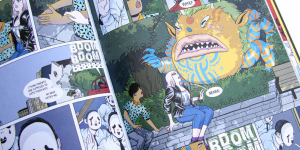 Nobrow Press, graphic novels, comic books, design, illustration, book review