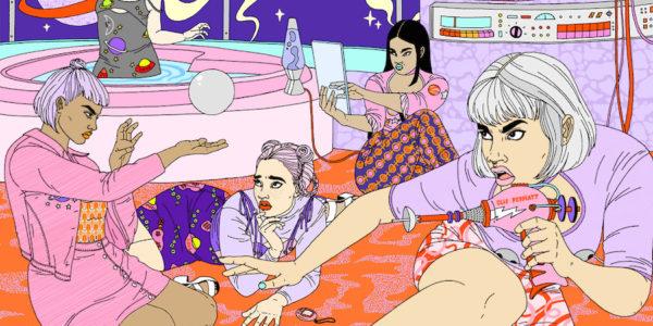 illustration, design, Laura Callaghan, featured artist